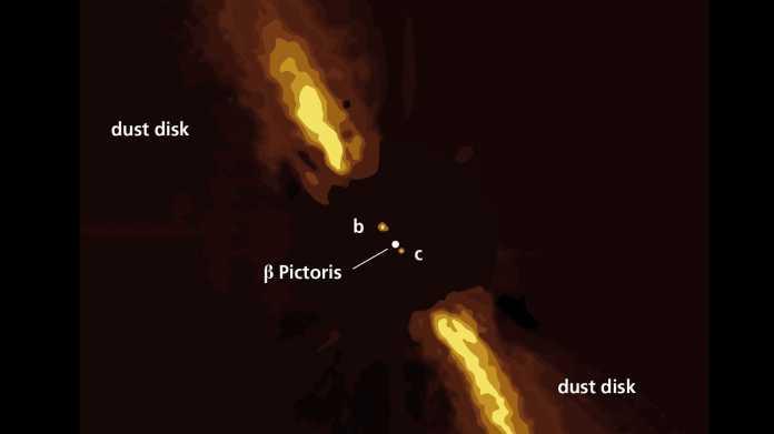 Astronomie: Direkte Abbildung des bislang sternenn?chsten Exoplaneten gelungen