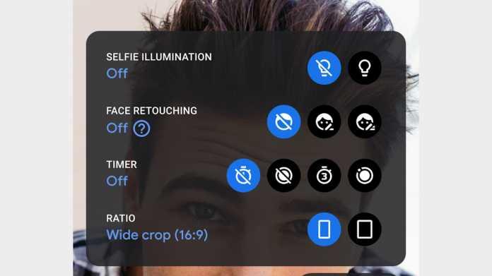 Google deaktiviert standardmäßig Verschönerungsfilter für Selfies