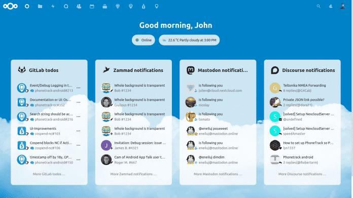 Nextcloud 20 integriert Slack, Teams, Github und mehr