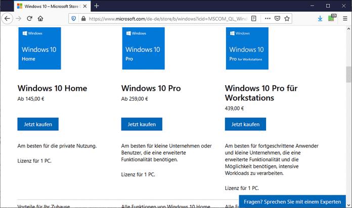 Microsoft verkauft Windows gern an jedermann, allerdings zu horrenden Preisen – kein Wunder, dass sich viele da nach günstigeren Alternativen umsehen.