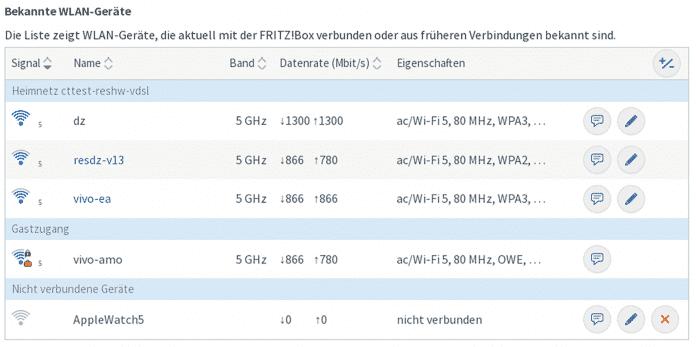 Stellt man aktuelle Fritzboxen auf das moderne WPA3 um, erhöht das die Sicherheit erheblich. WLAN-Clients, die sich nicht aufrüsten lassen, können weiterhin WPA2 verwenden.