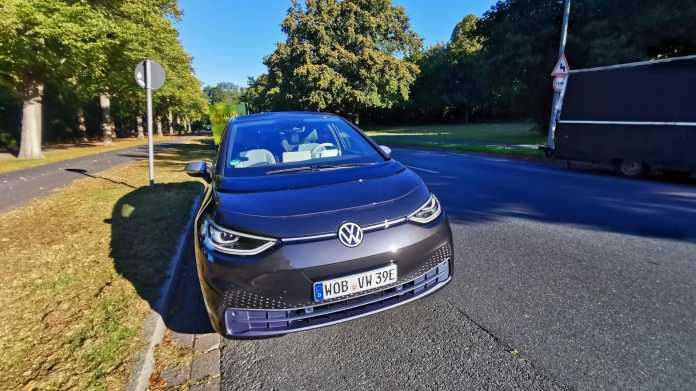 Volkswagens E-Fahrzeug ID.3 angetestet