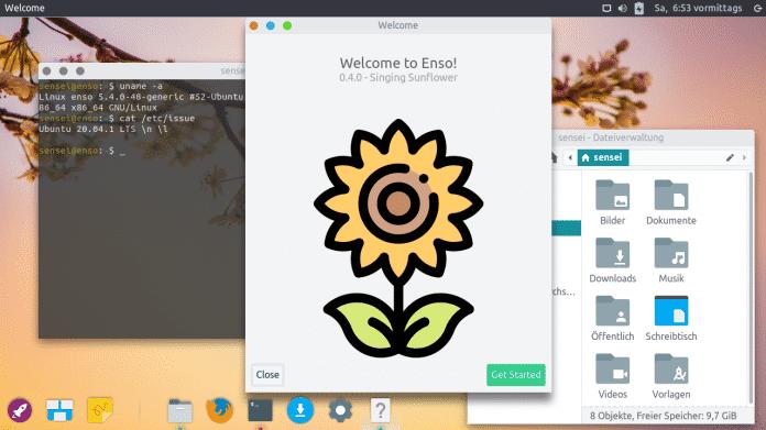 Enso OS 0.4 ausprobiert: Neue Xubuntu-Variante mit viel Flair