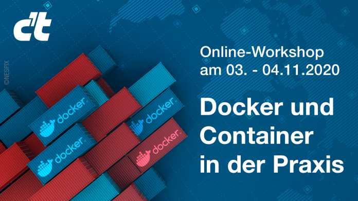 Online-Workshop: Docker und Container in der Praxis