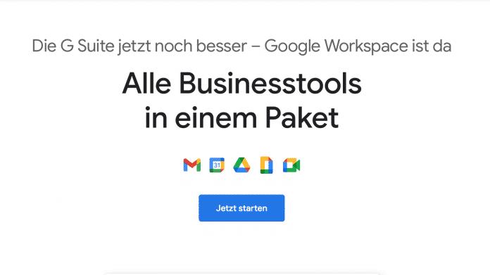 Google Workspace: Verknüpfung der Dienste samt neuem Design