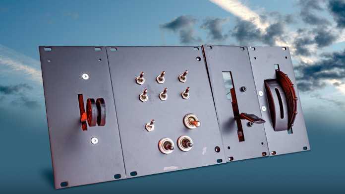 Ein selbst gebauter Controller für den Flugsimulator auf Basis des Arduino Micro