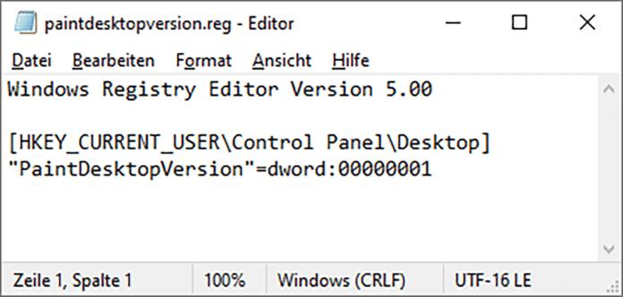 Dass Windows bei einem Upgrade nicht all Ihre Registry-Änderungen übernimmt, kann nur Microsoft selbst ändern. Mit einer exportierten REG-Datei sind Änderungen nach dem nächsten Upgrade aber ruckzuck restauriert.
