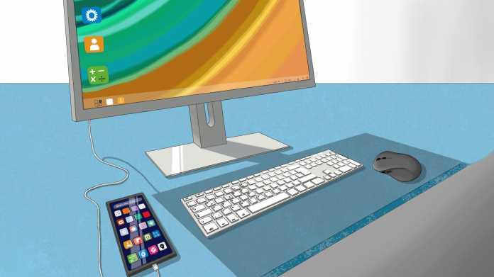 Smartphones am Monitor: Die Desktop-Modi von Huawei und Samsung