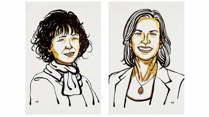 Genetik: Chemie-Nobelpreis an Emmanuelle Charpentier und Jennifer Doudna