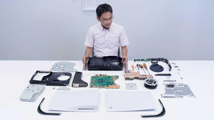 Playstation 5 im Teardown: Großer Kühler, monolithischer Chip und Flüssigmetall