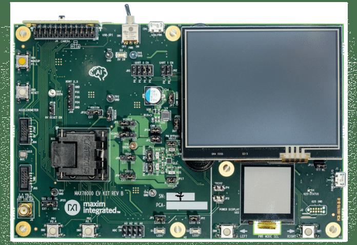 Evaluation Kit mit Maxim Integrated MAX78000