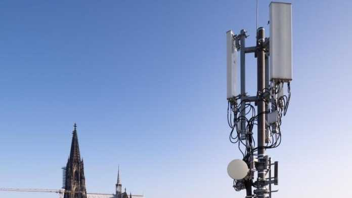 5G-Antenne in Köln