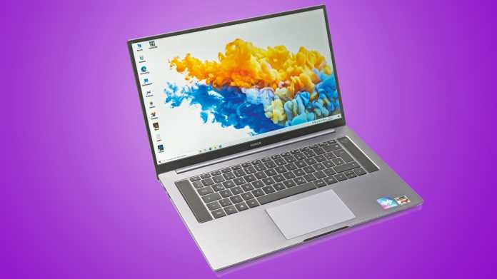 16-Zoll-Notebook Honor MagicBook Pro mit Ryzen 5 4600H