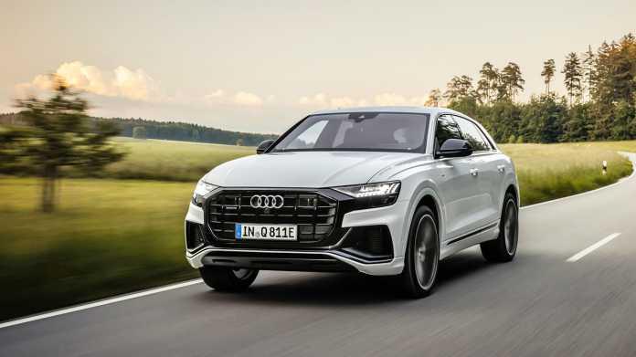 Audi Q8 mit Plug-in-Hybridantrieb