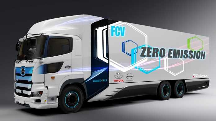 Toyota bringt Brennstoffzellen-Lkw 2022 auf die Straße