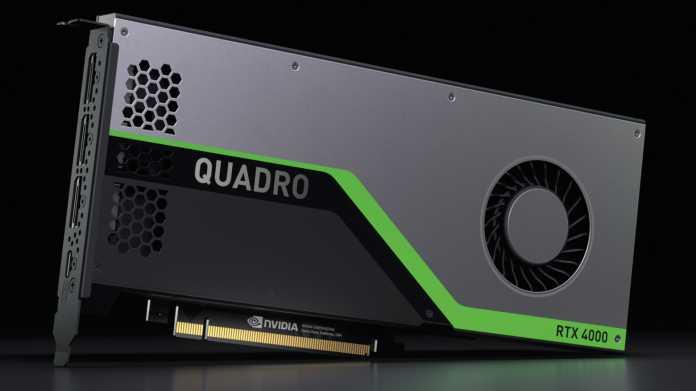 """Profi-Grafikkarten: Nvidia gibt auch Markennamen """"Quadro"""" auf"""