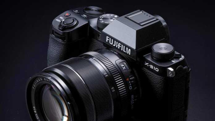 Klein und geschmeidig: Fujifilm X-S10