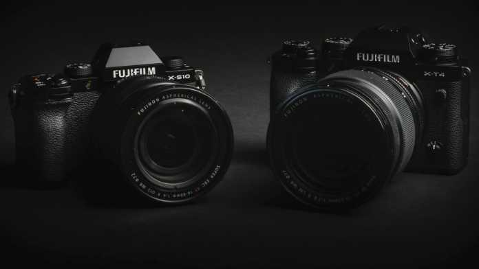 Fujifilm X-S10 vs. X-T4