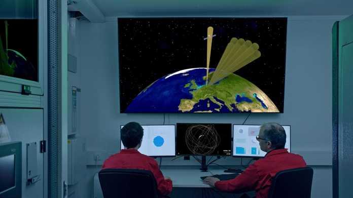 Weltraumradar GESTRA soll nach Weltraumschrott Ausschau halten