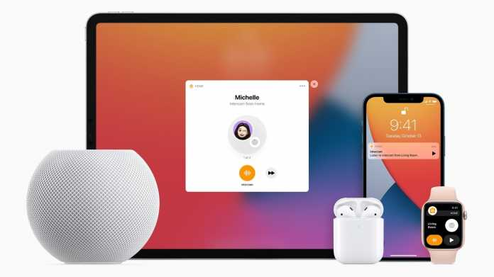 Intercom: Neues internes Kommunikationsmittel für Apple-Produkte