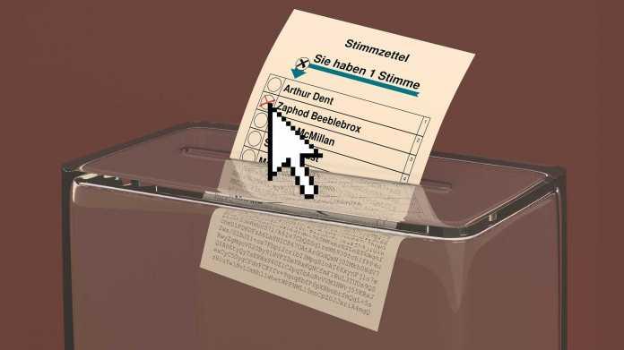 Sichere und geheime Wahlen übers Internet dank Kryptografie und Mathematik