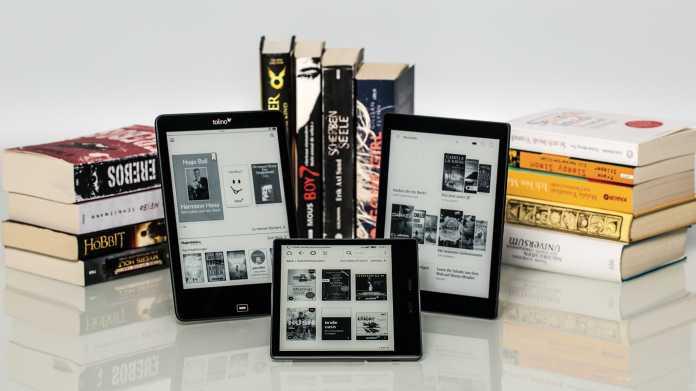 E-Book-Reader im Vergleich: Mit denen lesen Sie am Besten