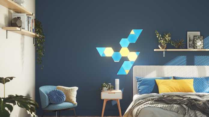 Shapes Triangles: Nanoleafs neue Deko-Leuchten sind dreieckig