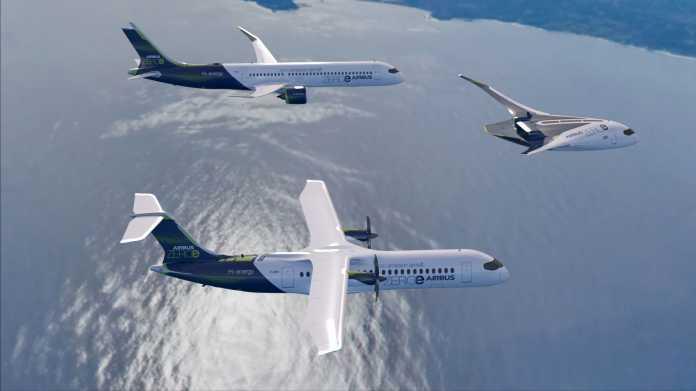 Brennstoffzellen-Jets: Airbus und Elring Klinger arbeiten an Wasserstoff-Antrieb