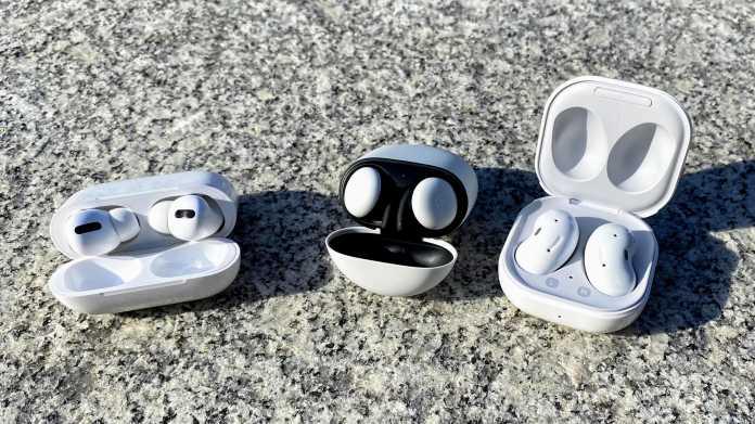 Kabellose In-Ear-Headsets im Vergleich: Apple gegen Google und Samsung