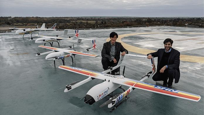 Drohnen sollen britische Kliniken mit Corona-Tests versorgen