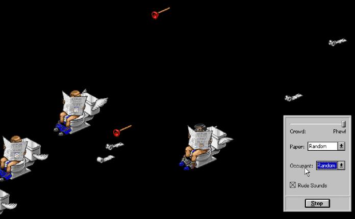 Berkeley Systems versuchte mehrfach, ihre fliegenden Toaster an Absurdität zu übertreffen, in der Version 3.0 etwa mäßig originell durch fliegende Toiletten nebst passenden Geräuschen.