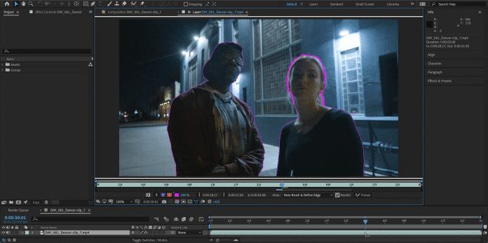 Rotobrush 2 nutzt in After Effects CC maschinelles Lernen um Motive sauber vom Hintergrund zu trennen.