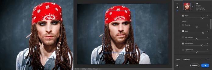 Die Neural Filter in Photoshop CC glättern die Haut und ändern selbst Blickrichtung oder Ausdruck eines Porträts.
