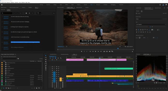 Künstliche Intelligenz erzeugt in Premiere Pro künftig automatisch Untertitel aus der Audiospur.