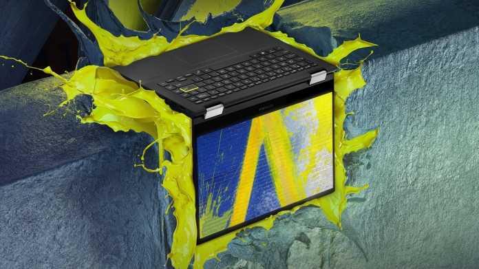 Asus VivoBook Flip 14: Erstes Notebook mit Intels DG1-Grafikchip