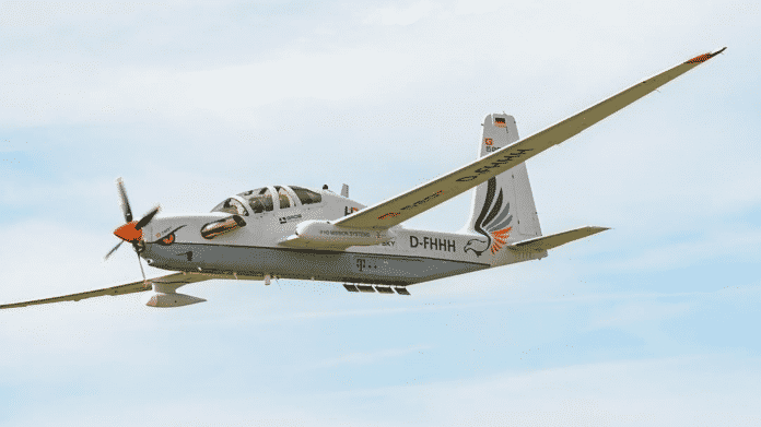 Telekom testet ferngesteuertes Flugzeug als Mobilfunkstation