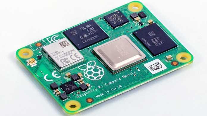 Raspberry Pi 4 nun auch als Compute Module (CM4)