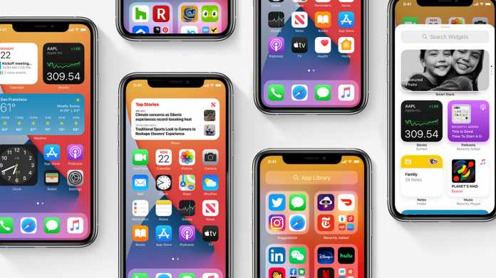 iOS 14.2 kommt wohl flott