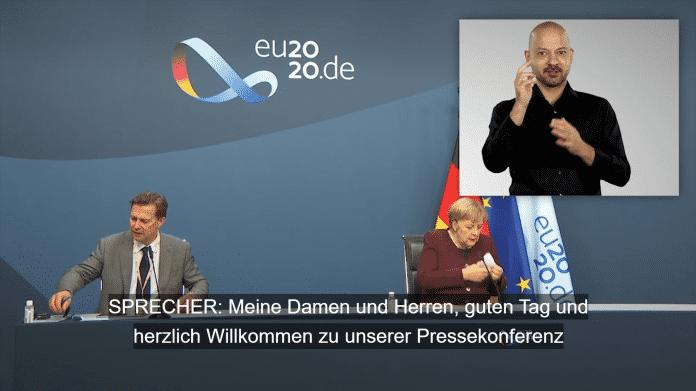 barrierefreie Pressekonferenz