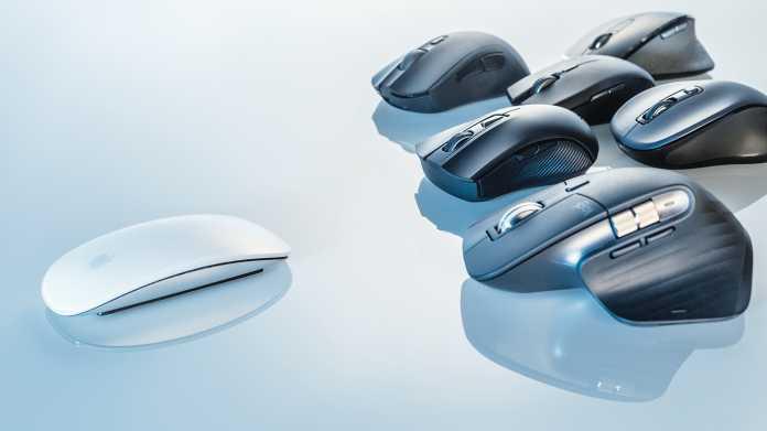Im Test: Apples Magic Mouse 2 gegen 15 Mäuse
