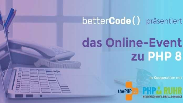 Verlängerung Frühbucherrabatt: Das Online-Event zum Release von PHP 8
