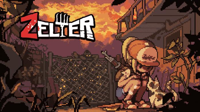 Survival-Game Zelter