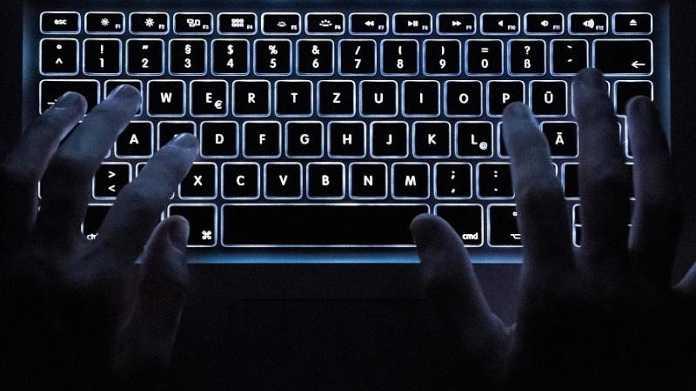 Tastatur eines Notebooks