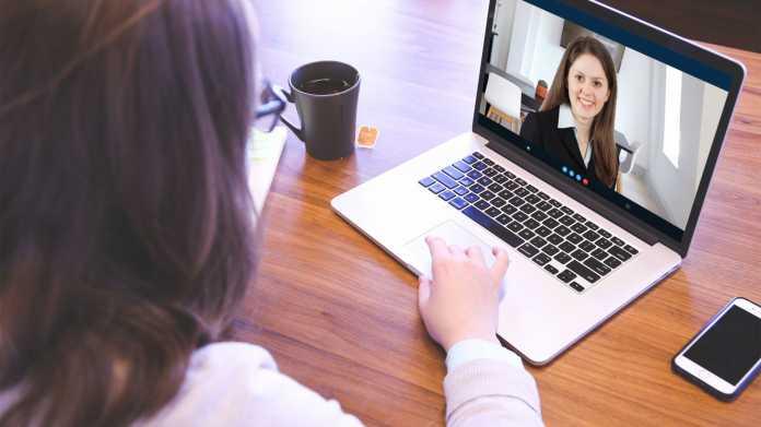 Immer mehr Bewerbungsgespräche werden digital über Videokonferenzformate abgehalten