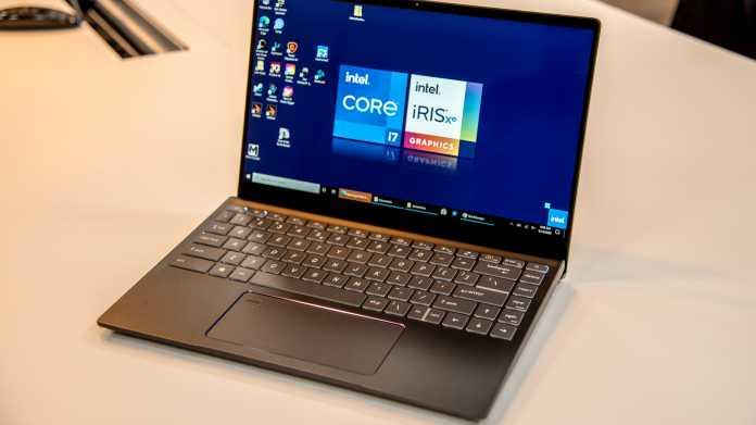 Tiger Lake im Test: Intel schlägt bisherige Notebook-Quad-Cores deutlich