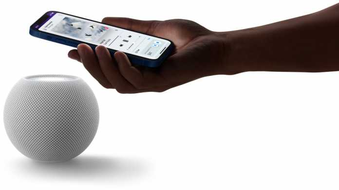 HomePod mini mit iPhone