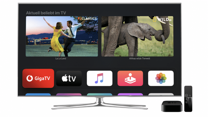 GigaTV Apple TV