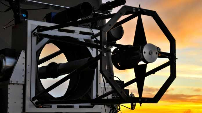 optische Bodenstation für den Quantenschlüsselaustausch