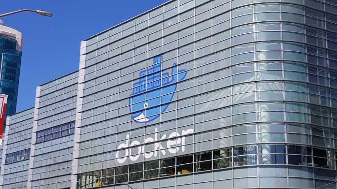 Das Konferenzgebäude der DockerCon.