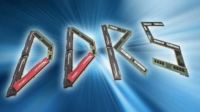 Das bringt DDR5-Arbeitsspeicher für PCs, Notebooks und Server